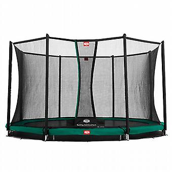 BERG Favorit Comfort Inground Trampoline with Safety Net