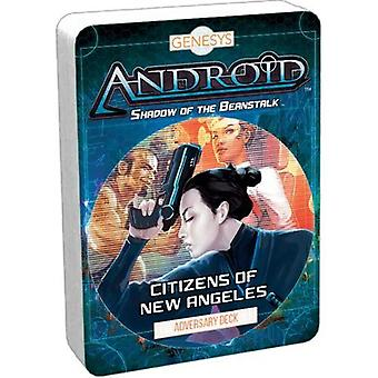 Genesys RPG Citizens of New Angeles Adversary Deck