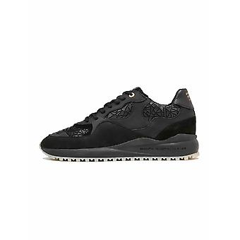 Android Homme  Android Homme Santa Monica 319 Black Leather Sneaker