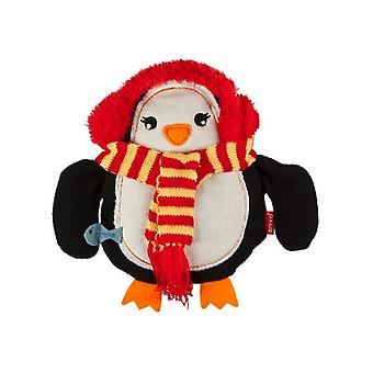 Soxo Knitted Cuddle Hottie Body Warmer: Penguin