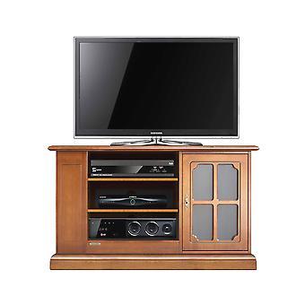 Meuble de style TV fonctionnel avec porte vitrine