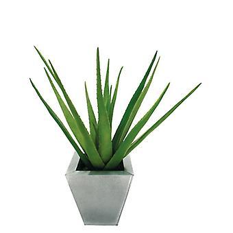Künstliche Seide Aloe-Pflanze