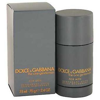 The One Gentlemen By Dolce & Gabbana Deodorant Stick 2.5 Oz (men) V728-483227