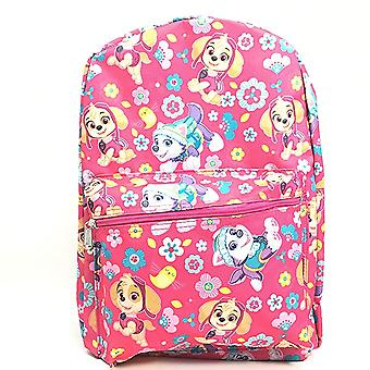 Backpack - Paw Patrol - Skye And Everest Pink 16