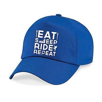 Adult Horse Eat Sleep Ride Repeat Baseball Cap