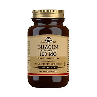 Solgar Niacin 100mg Tablets 100 (1860)