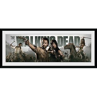 The Walking Dead Survival Framed Collector Print 75x30cm