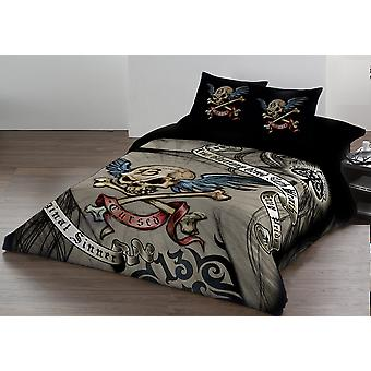 Alchemy - cursed - duvet and pillows covers set - uk double / us twin