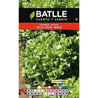 Batlle Green Bowl Lettuce (Tuin , Tuinieren , Zaden)