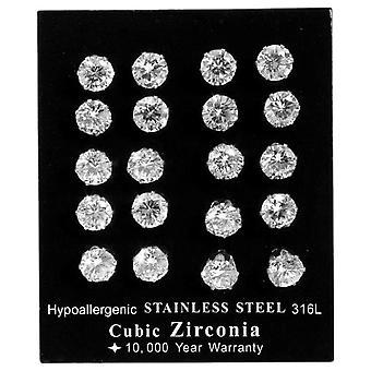 Akzent - Women's pendant earrings - stainless steel - cod. 004200000037