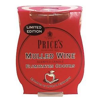 Mulled Wine Candle in Glass Jar by Prices