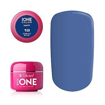 Base one-Matt-Cobalt blue 5 g UV-gel