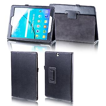 Pour Samsung Galaxy Tab S6 10.5 T860 T865 Black Faux Leather Case Cover Case New