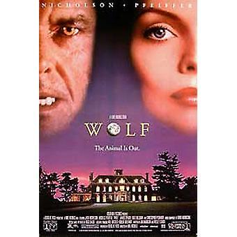 Wolf (video) alkuperäinen video/DVD-mainos juliste