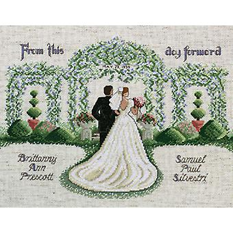 From This Day Forward Counted Cross Stitch Kit 14