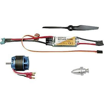 Model aircraft brushless motor Multiplex 332647 Compatible with: Multiplex FunJet Ultra