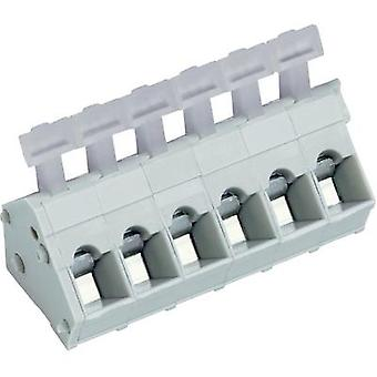 PTR 53001020001F, 2-Way PCB Spring Terminal Block 5.0mm 24 A/15A Pebble grey