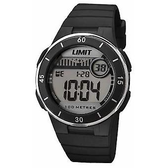 Limit Unisex Black Strap Digital Dial 5556 Watch