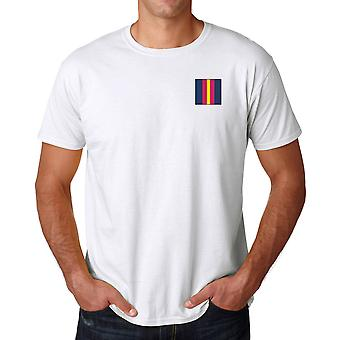 The Royal Anglian Regiment Embroidered TRF Logo - Official British Army Cotton T Shirt
