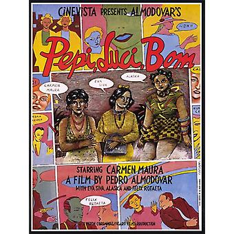 Pepi Luci Bom Movie Poster (11 x 17)