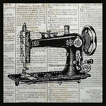 طباعة ملصقات خمر آلة الخياطة بالانتين بايبر