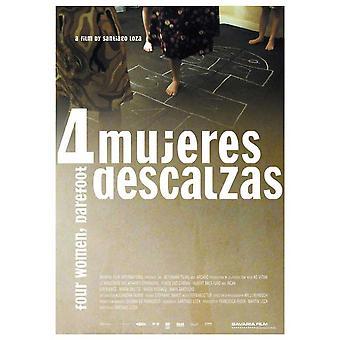 Cuatro mujeres descalzas film plakatutskrift (27 x 40)