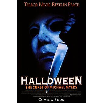 Halloween 6 der Fluch des Michael Myers Film Poster drucken (27 x 40)