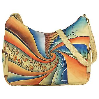Greenland-art + craft leather bag 93-09