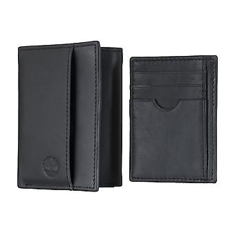 Timberland men's purse wallet purse with card holder black 4904