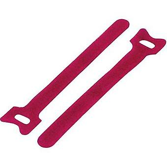 Hook-and-loop cable tie for bundling Hook and loop pad (L x W) 135 mm x 12 mm
