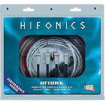 Car stereo headstage amp connector kit 10 mm² Hifonics CR-10WK