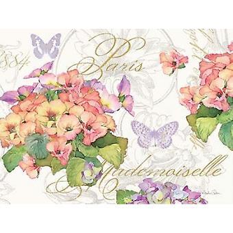 Primrose Mademoiselle Poster Print by Julie Paton
