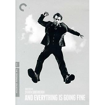 And Everything Is Going Fine [DVD] USA import