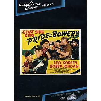 Stolthed af Bowery (1941) [DVD] USA importen