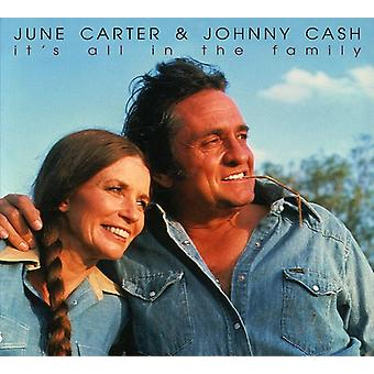 Carter/Cash - Its All in the Family [CD] USA import