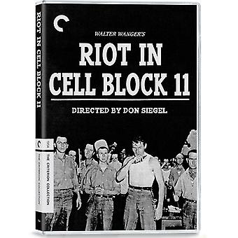 Riot in Cell Block 11 [DVD] USA import