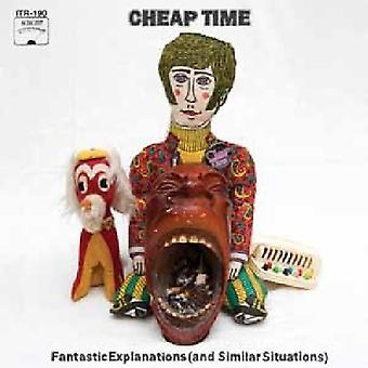 Cheap Time - Fantastic Explanations (and Similar Situations) [CD] USA import