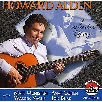 Howard Alden - jeg husker Django [CD] USA import