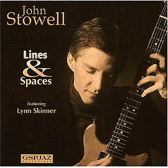 John Stowell - Lines & Spaces [CD] USA import
