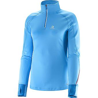 Salomon Women Trail Runner Warm LS Zip Laufshirt - 371005