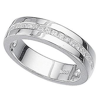 925 Silver Zirconia Ring