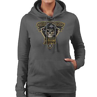 Død fra oven Mobile infanteri Starship Troopers kvinder er hætte Sweatshirt