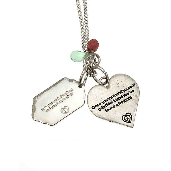 W.A.T Harmony Prosperity Charm Necklace By Martine Wester