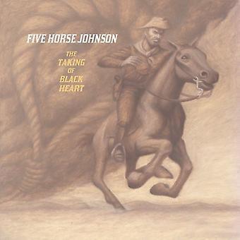 Fem hest Johnson - tager af Blackheart [CD] USA import