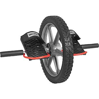 Ab Wheel Schwarz/Silber/Rot