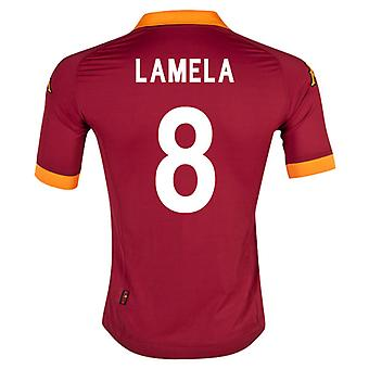 Camiseta de local de Roma 2012-13 (Lamela 8)