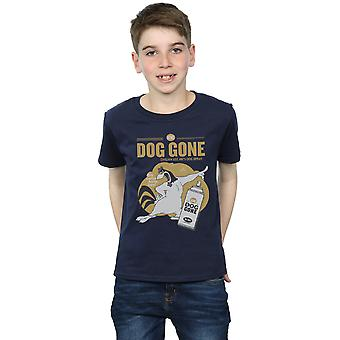 Looney Tunes drenge tågehorn Leghorn hund gået T-Shirt
