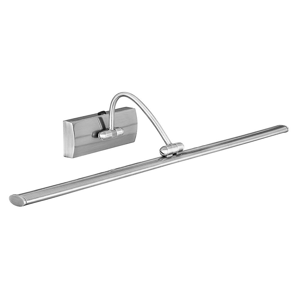 Searchlight 2982-81SS Satin Silver Modern LED Picture Light