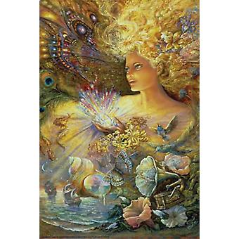 Crystal Of Enchantment Poster Print by Josephine Wall (24 x 36)