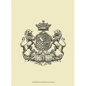 Heraldiek ik Poster Print by visie studio (10 x 13)